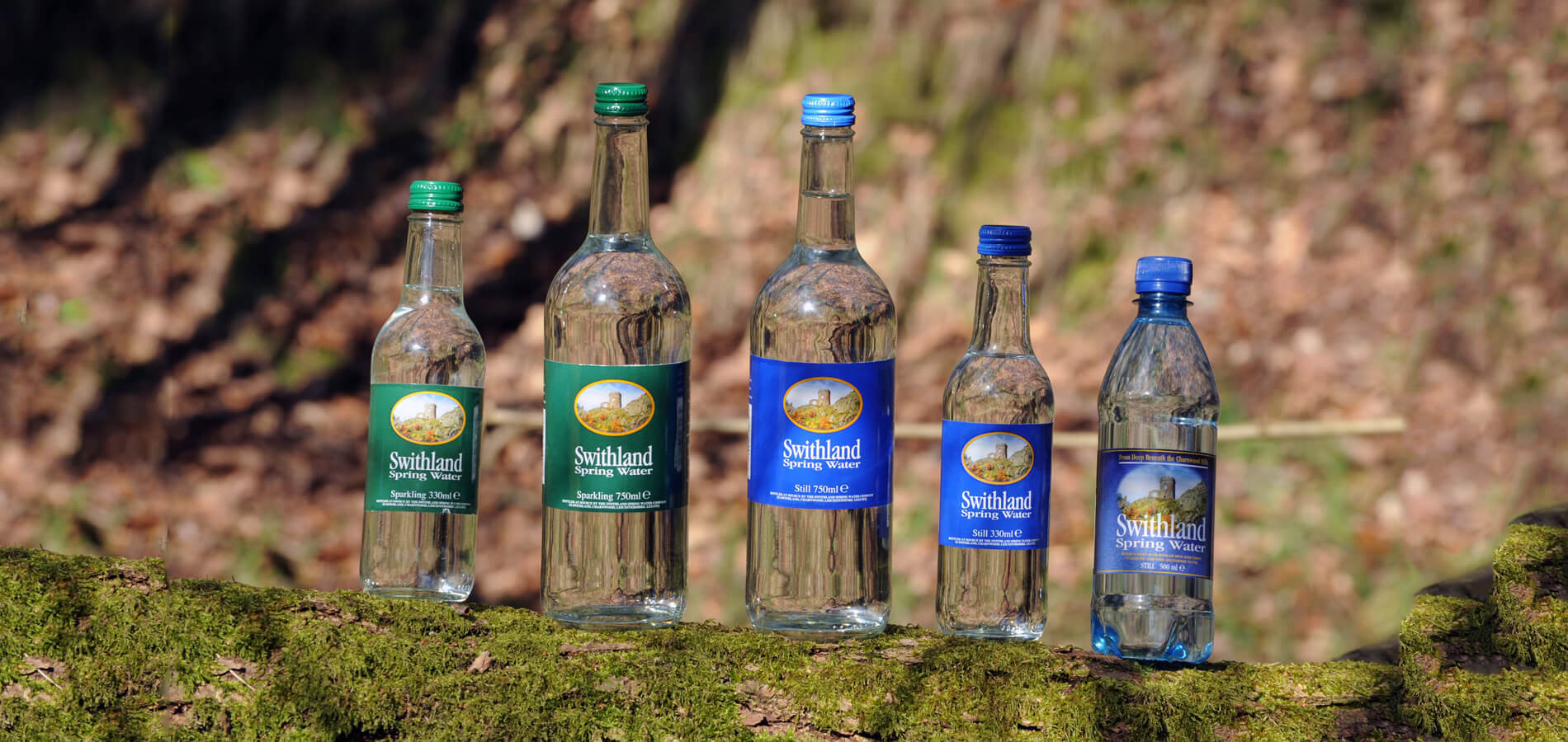 Swithland Spring Water - Leicestershire suppliers of glass bottled spring water